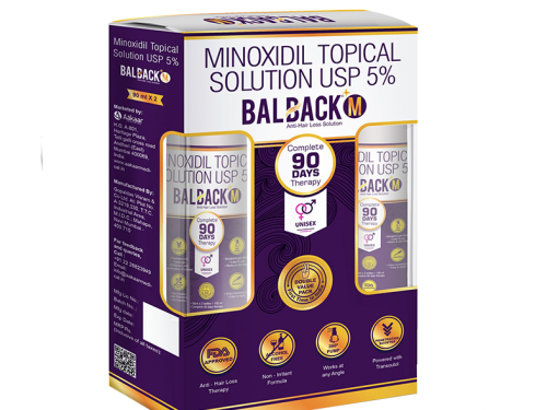 Balback M 5% Minoxidil Solution