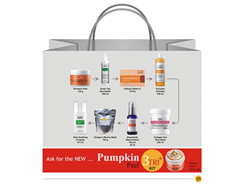 Theraderm Pumpkin Peel Full Kit
